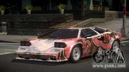 Lamborghini Countach Qz S1 for GTA 4