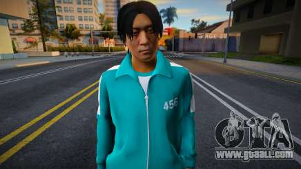 Male Random Tracksuit 456 Squid Game for GTA San Andreas
