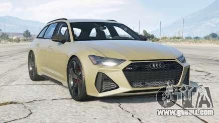 Audi RS 6 Avant (C8) 2019〡add-on v1.0 for GTA 5