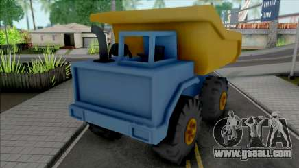Toy Truck for GTA San Andreas
