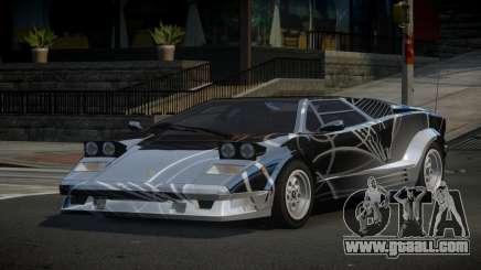 Lamborghini Countach 25th S6 for GTA 4