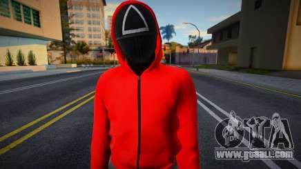 Male Random Guard N2 Squid Game for GTA San Andreas