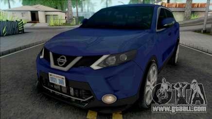Nissan Qashqai 2015 Lowpoly for GTA San Andreas