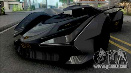 Lamborghini Lambo V12 Vision Gran Turismo v2 for GTA San Andreas