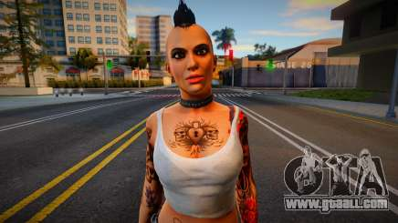 Angel from Dead Rising for GTA San Andreas