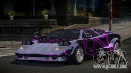 Lamborghini Countach 25th S5 for GTA 4