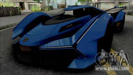 Lamborghini Lambo V12 Vision Gran Turismo for GTA San Andreas