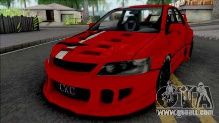 Mitsubishi Lancer Evolution (NFS Carbon Kenji) for GTA San Andreas