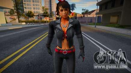 Josie Biker from Tekken for GTA San Andreas
