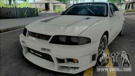 Nissan Skyline GT-R BCNR33 Wangan Midnight for GTA San Andreas