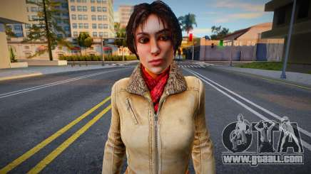 Kate Walker from Syberia 3 for GTA San Andreas