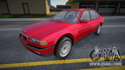 BMW e38 750I (RWmods) for GTA San Andreas