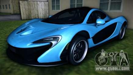 McLaren P1 2013 for GTA Vice City