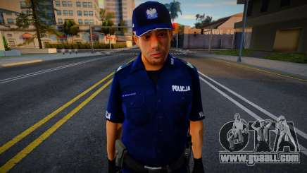 POLICJA - Polscy Policjanci 1 for GTA San Andreas