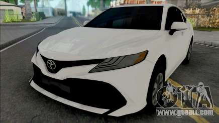 Toyota Camry 2018 Hubcaps for GTA San Andreas