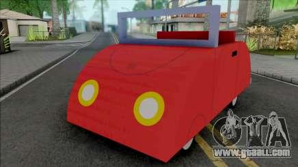 Peppa Pig Car for GTA San Andreas