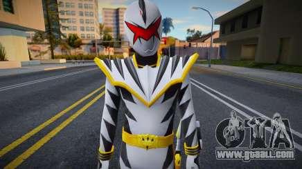 White Ranger (Power Rangers Dino Thunder) for GTA San Andreas